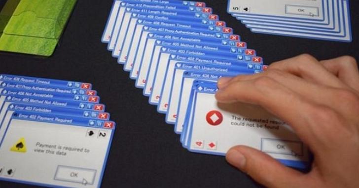 日本廠商推出「Windows 錯誤視窗」撲克牌,帶你紀念那個(美好?)時代