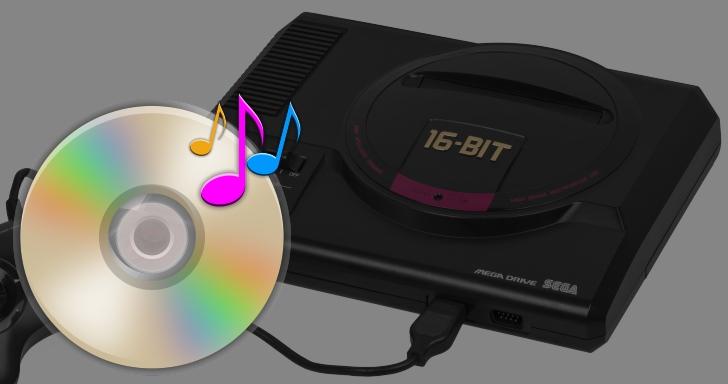 MSU-MD將支援播放CD音軌,實體Mega Drive主機也能將配樂抽換為交響樂