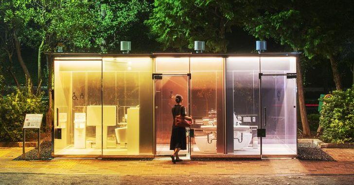 日本透明公廁火了,這些「全球最美公廁」你上過幾個?