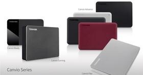 TOSHIBA 發表 Canvio Flex 和 Canvio Gaming 外接式硬碟,滿足跨平台、電競及隱私保護需求