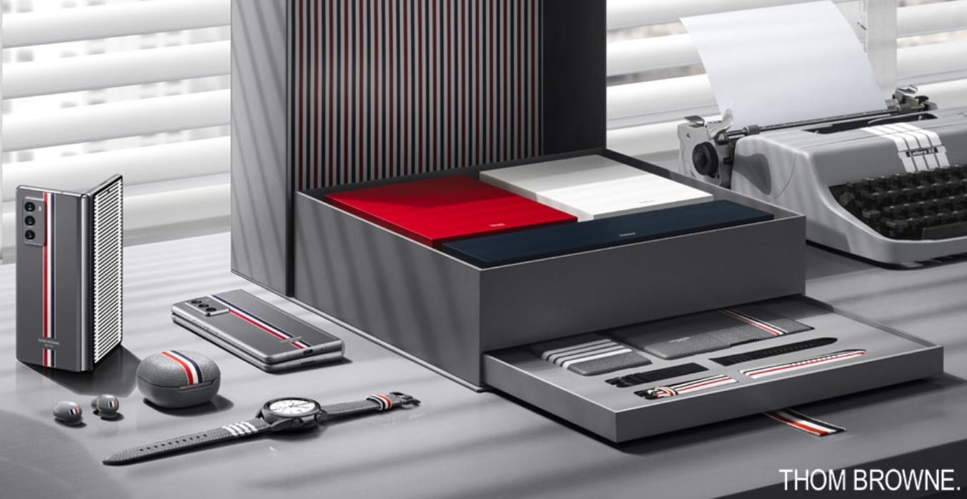 三星另推Galaxy Z Fold 2 Thom Browne 摺疊機,限量 5,000 台要價 3,299 美元