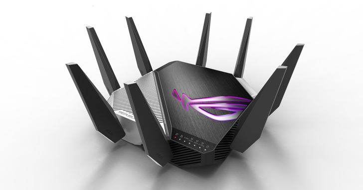ROG 發表全球首款 WiFi 6E 電競路由器 Rapture GT-AXE11000