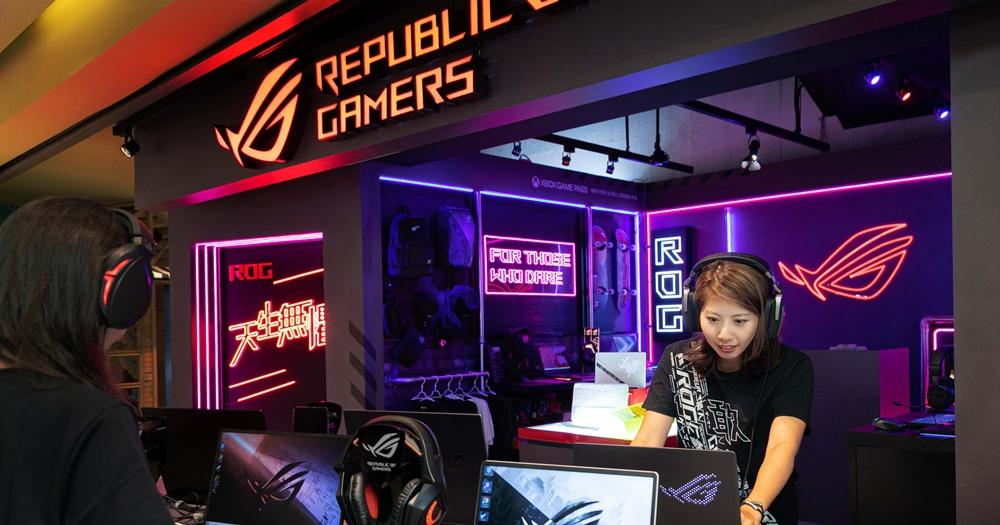 華碩 ROG 快閃店進駐台北中山商圈,買 ROG 商品就送指定週邊
