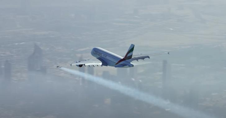 美國兩名機長回報,在3000英呎高空目擊有男子駕駛噴射背包飛行