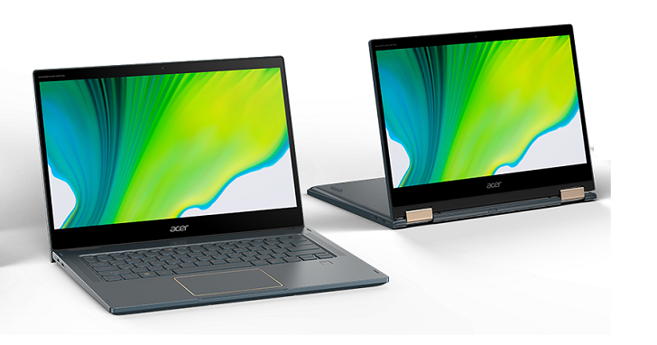 Acer Spin 7 常時連網 5G 筆電,搭高通第二代 Snapdragon 8cx 平台
