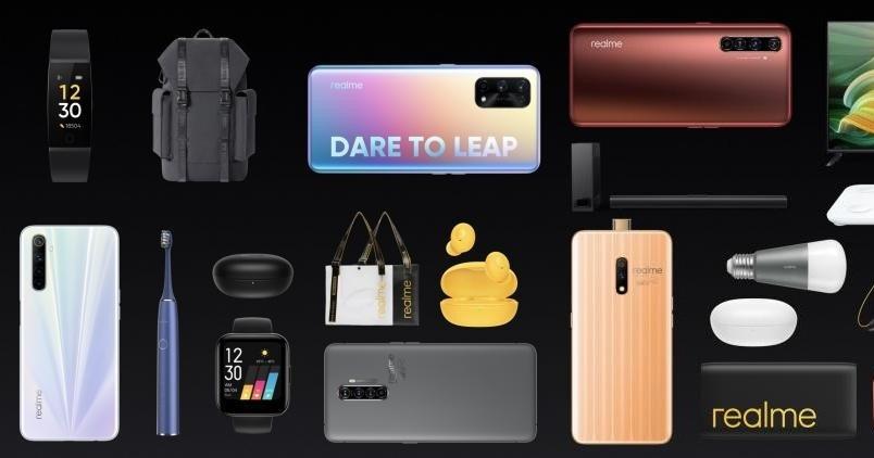realme 將推出多款 4G、5G 手機,首款電視、耳機、手錶、燈泡陸續上市