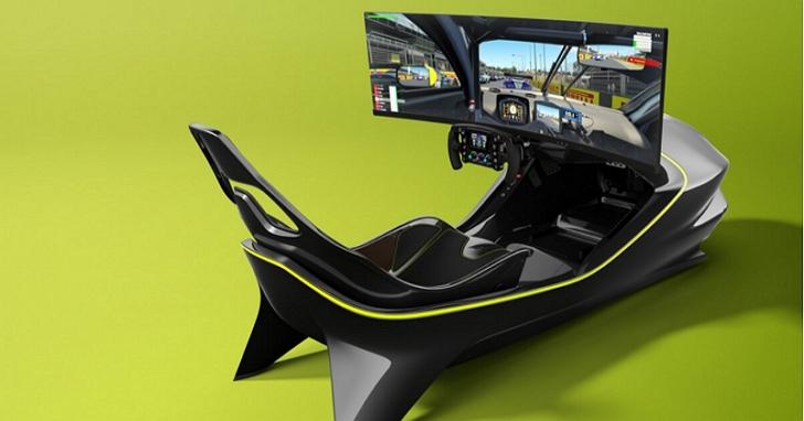奧斯頓·馬丁發佈新賽車模擬器,可能是最終極的夢幻賽車電競駕駛艙