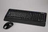 「支援Windows 7」的藍光無線鍵鼠組