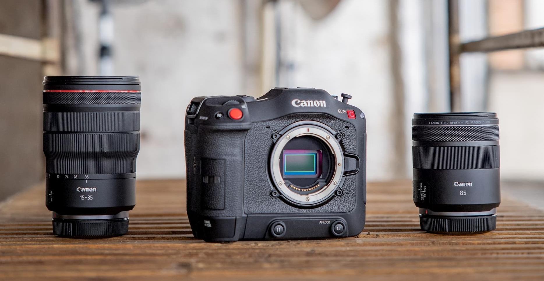 Canon 推出 4K 專業數位攝影機 EOS C70,採 RF 接環、支援 4K/120P 錄影
