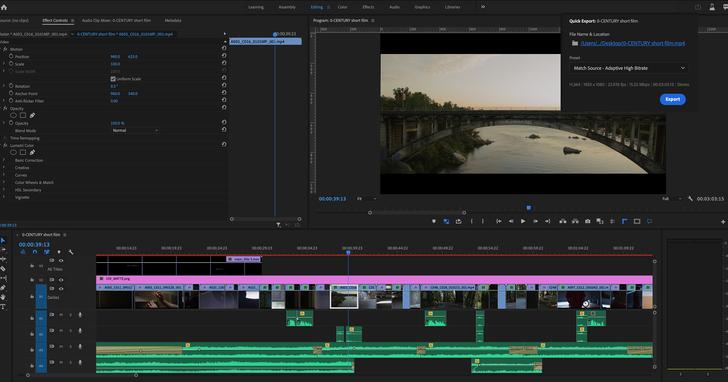 Adobe發佈Creative Cloud影音工具創新功能,簡化工作流程