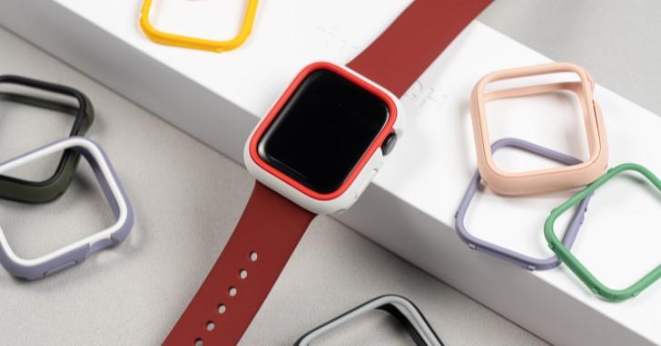 怕剛入手 Apple Watch S6 又敲到?犀牛盾保護殼不但防摔,還有超過70種配色組合