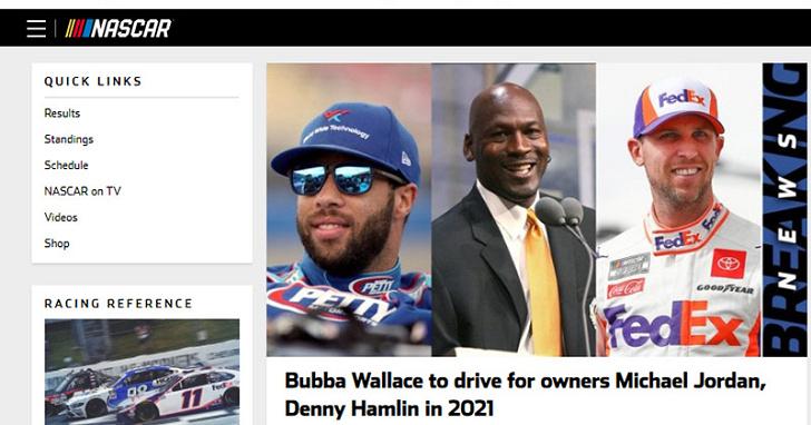 有黃蜂還不夠,籃球之神 Michael Jordan 即將成立 NASCAR 賽車隊