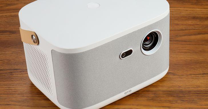 OVO 無框電視 K1 開箱評測:是電視、是音響、也是投影機!