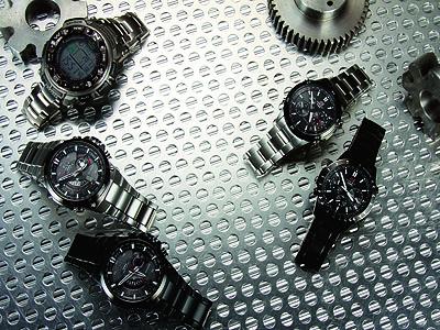 5款電波錶,跨時差精準同步,也給你熟男魅力