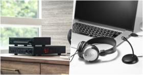 鐵三角推出全新 Hi-Fi 級擴大器組合,遠端工作 USB 麥克風耳機組同步上市