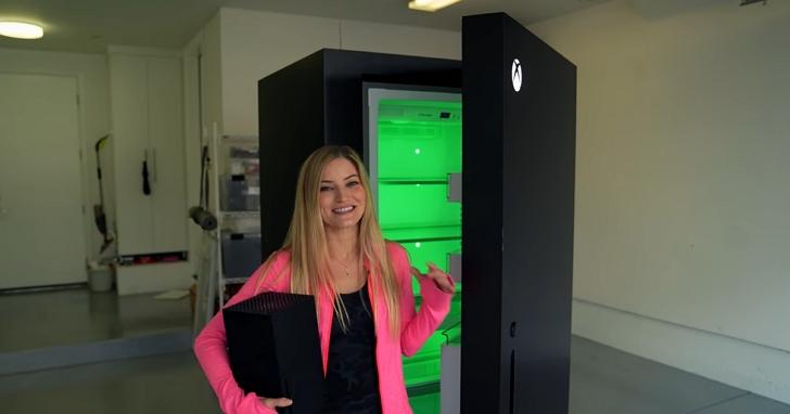 微軟真的造出了Xbox Series X冰箱,而且還內建開機音效