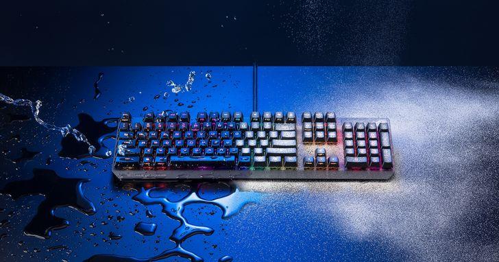 ROG獨創光學紅軸鍵盤Strix Scope RX、入耳式電競耳機Cetra RGB新上市