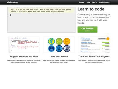 Codecademy 讓你一年內學會寫程式,或許能賺更多錢