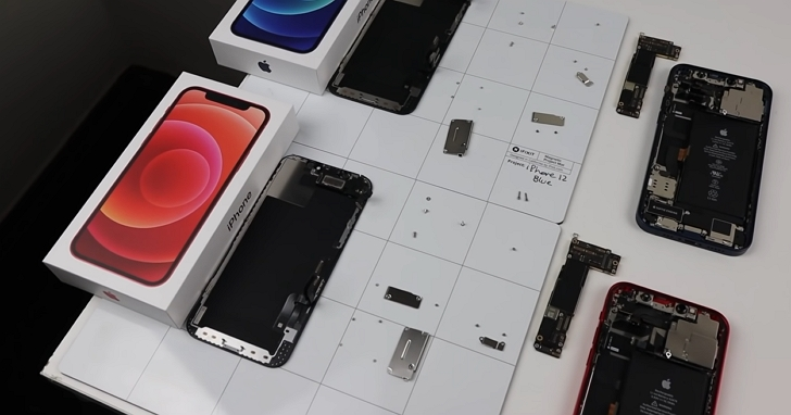 第三方維修iPhone 12更難了,專家發現互換兩台iPhone 12主機板後兩台手機都幾乎「報廢」