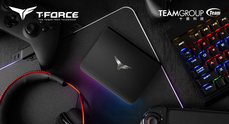 十銓科技推出T-FORCE TREASURE Touch外接式RGB固態硬碟  絢麗燈效一觸即炫 閃耀你的遊戲主機