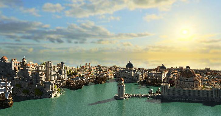 透過《Minecraft》還原《魔戒》中土大陸,300 位玩家無私奉獻長達 10 年