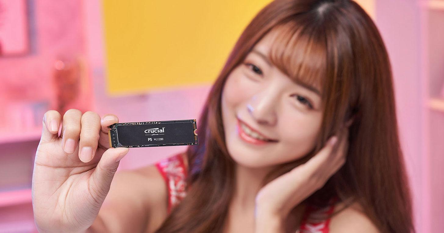 美光 Crucial P5 開箱評測:高階款 NVMe PCIe SSD 降臨,效能表現優異並兼具大容量選擇!