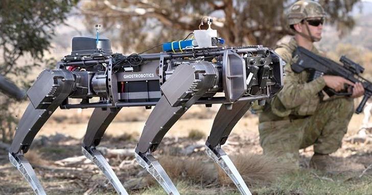 英國陸軍估計到2030年將有25%機器人戰力的部署