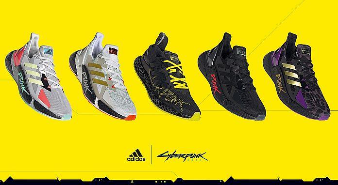 adidas 推出 X9000 x《Cyberpunk 2077》聯名跑鞋系列,以經典遊戲元素結合未來科幻配色