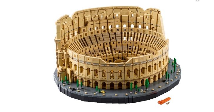 樂高推出迄今為止最大的套組:含9036塊積木的「羅馬競技場」