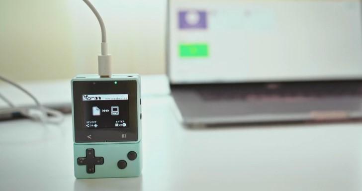 Xtron Pro迷你掌上型遊戲機,還可兼作物聯網開發板