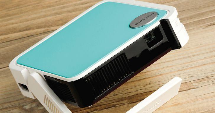 ViewSonic M1 mini Plus 開箱評測:超迷你無線智慧 LED 口袋投影機