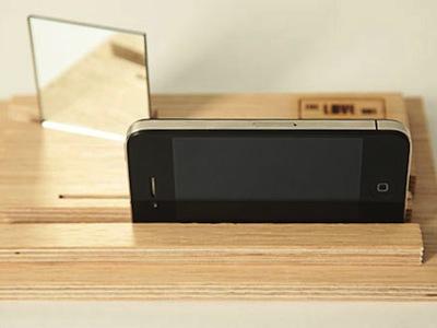 讓 iPhone 可以同時拍前後畫面的愛之盒