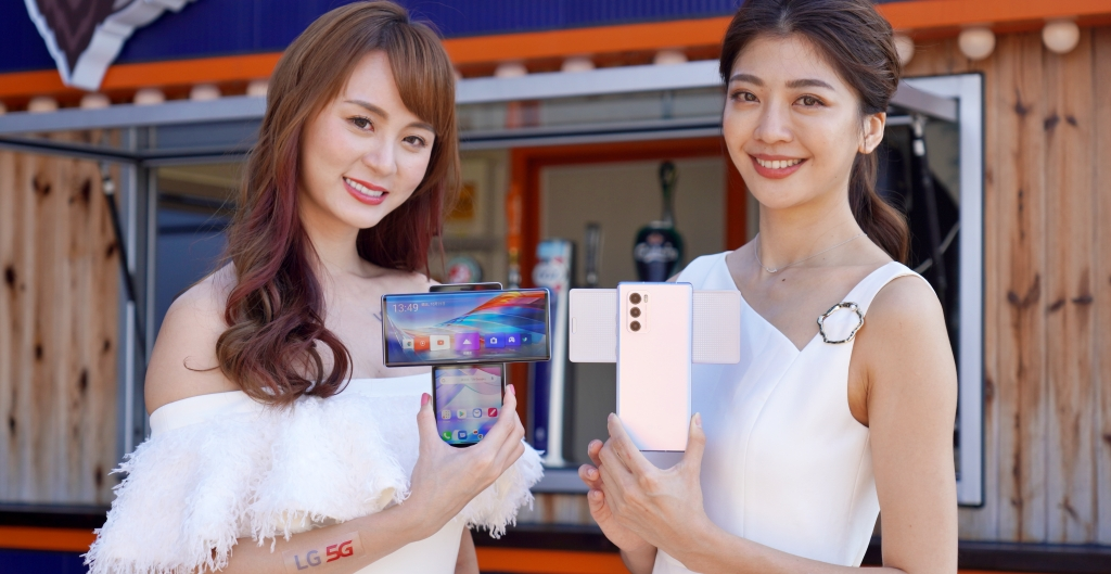 旋轉手機 LG Wing 登台,內建手持穩定器、售價 25,990 元