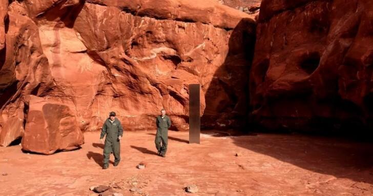 誰拿走了猶他州沙漠的神秘金屬「巨石」?有攝影師出面陳述目擊「巨石」被搬走的過程