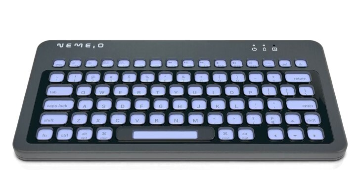 Nemeio客製化鍵盤,每個按鍵都是電子紙小螢幕