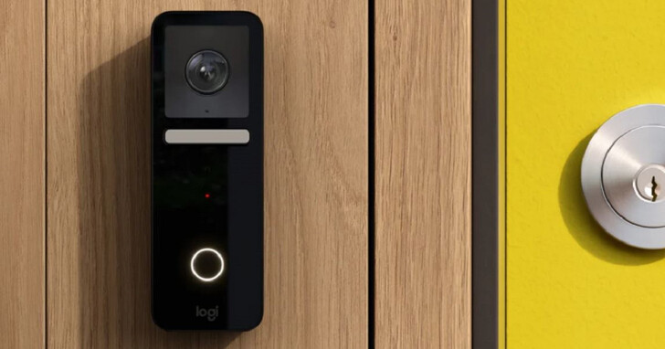 Logitech 悄悄推出了相容於 HomeKit 的 Circle View 智慧監控門鈴