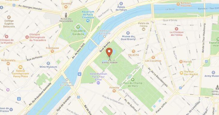 如何在Apple地圖上查詢大眾交通工具的即時資訊?