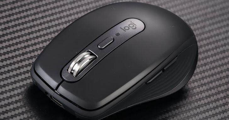 Logitech MX Anywhere 3 開箱評測,輕巧高效的隨行無線滑鼠
