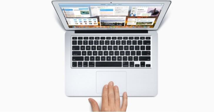 蘋果觸控專利曝光,未來或允許Mac使用者在投影面上進行觸摸輸入