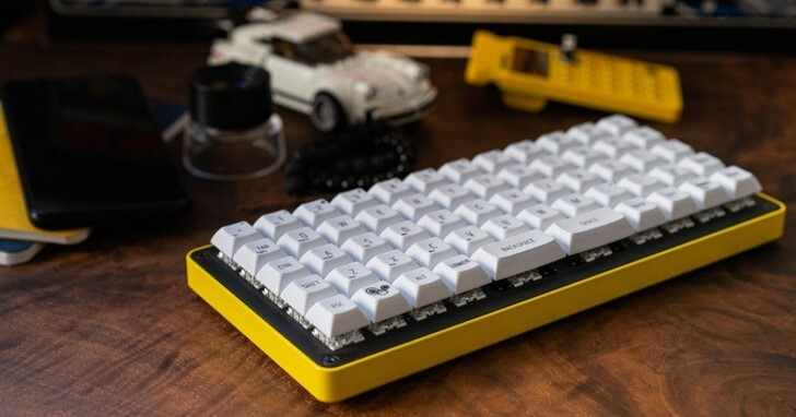 Gizmo Engineering GK6機械鍵盤,提供2組Fn與3種空白鍵配置