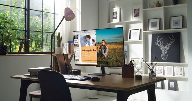 三星全球首款智慧聯網螢幕Smart Monitor M7︱M5在台上市