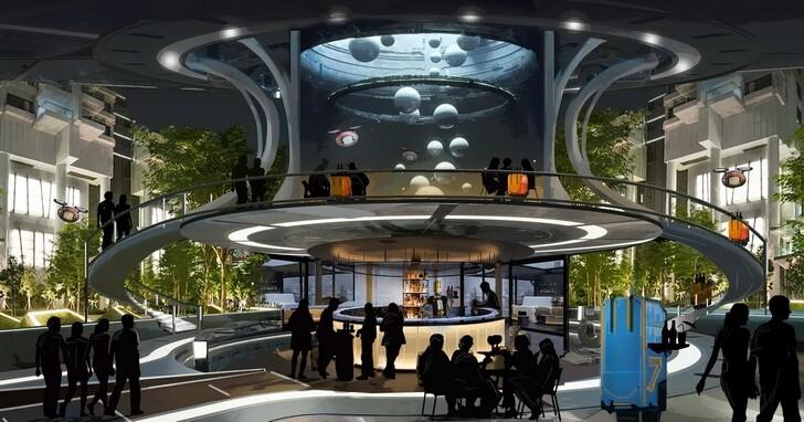 酒店設計的未來:移動式客房、非接觸式房間以及機器人服務