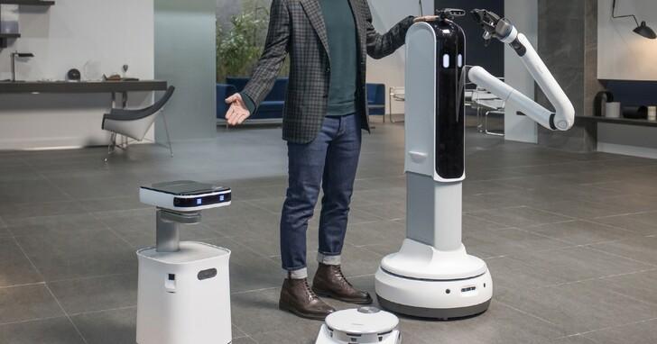 三星掃地機器人、家事機器人齊登場,新冰箱、micro LED 顯示器讓待在家裡變得更舒適