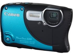 Canon Powershot D20 防水、防寒、防震,潛水衣造型亮相