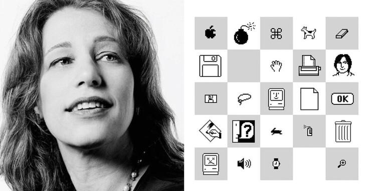 她創造了Mac 笑臉、像素字體、微軟紙牌…蘋果第一代設計師蘇珊‧卡雷(Susan Kare)有多厲害?