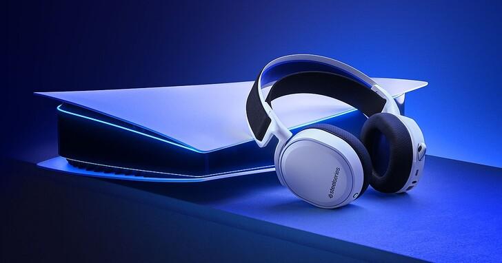 SteelSeries 在台推出專為 PlayStation 5 設計的 Arctis 7P 無線電競耳機,以及大尺寸 RGB 鼠墊