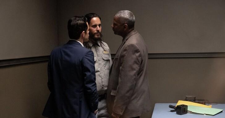黑暗犯罪新作《細物警探》丹佐華盛頓、雷米馬利克、傑瑞德雷托互讚演技