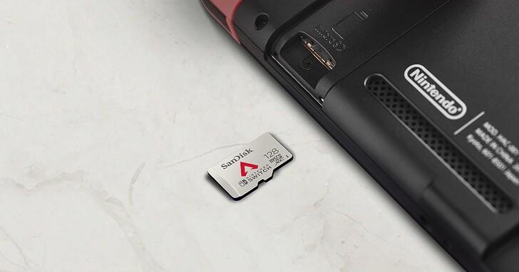 Western Digital 推出《Apex 英雄》任天堂 Switch 128GB 記憶卡,讀取速度達 100MB/s