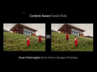 Photoshop CS6 犯規新功能,移動物體自動填補背景