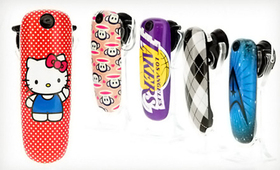 earloomz GL 藍牙耳機,卡通、電影、NBA 時尚彩殼加持